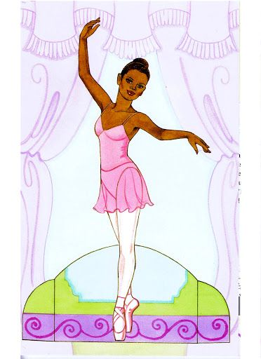 Ballet Dancers Pape Doll by Eileen Rudisill Miller - Katerine Coss - Picasa Web Albums