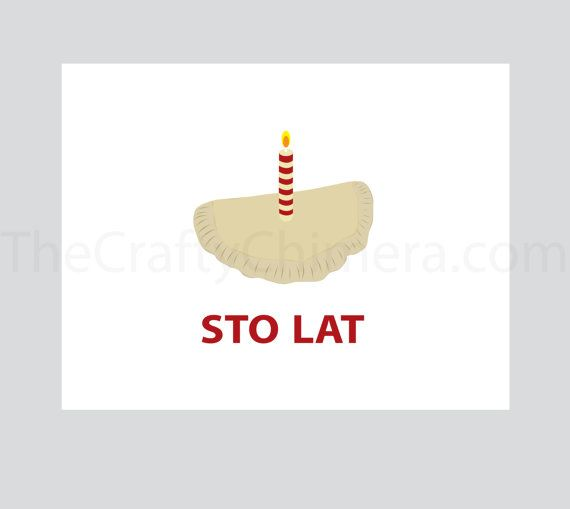 Want to say Happy Birthday with some Polish flair Nothing will – Polish Birthday Greeting