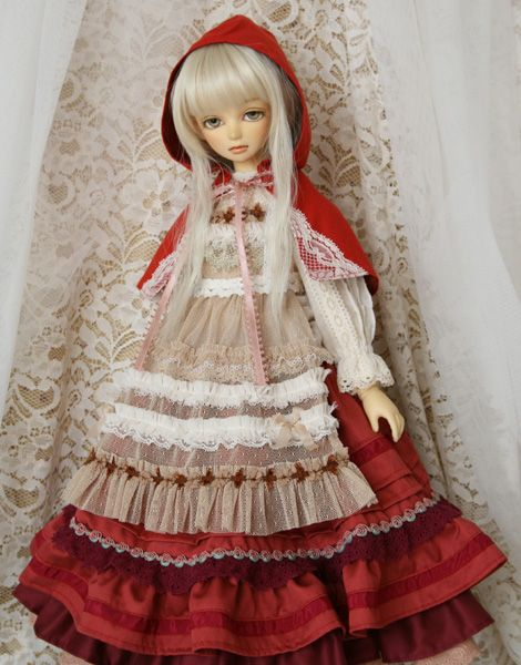 pare*ideal ◆SD少女服◆赤ずきん_画像2