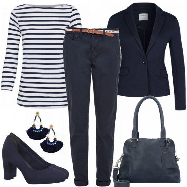 93cd97933a5acd BlueBusiness Damen Outfit - Komplettes Business Outfit günstig kaufen  FrauenOutfits.de #bluebusiness #business