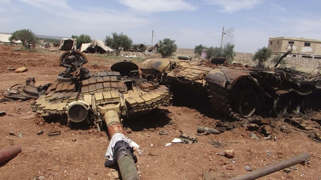 syrian civil war pictures tank - Google Search