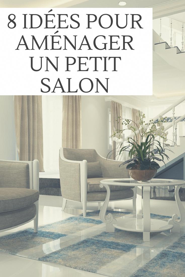 20 IDÉES POUR AMÉNAGER PARFAITEMENT UN PETIT SALON  Aménagement