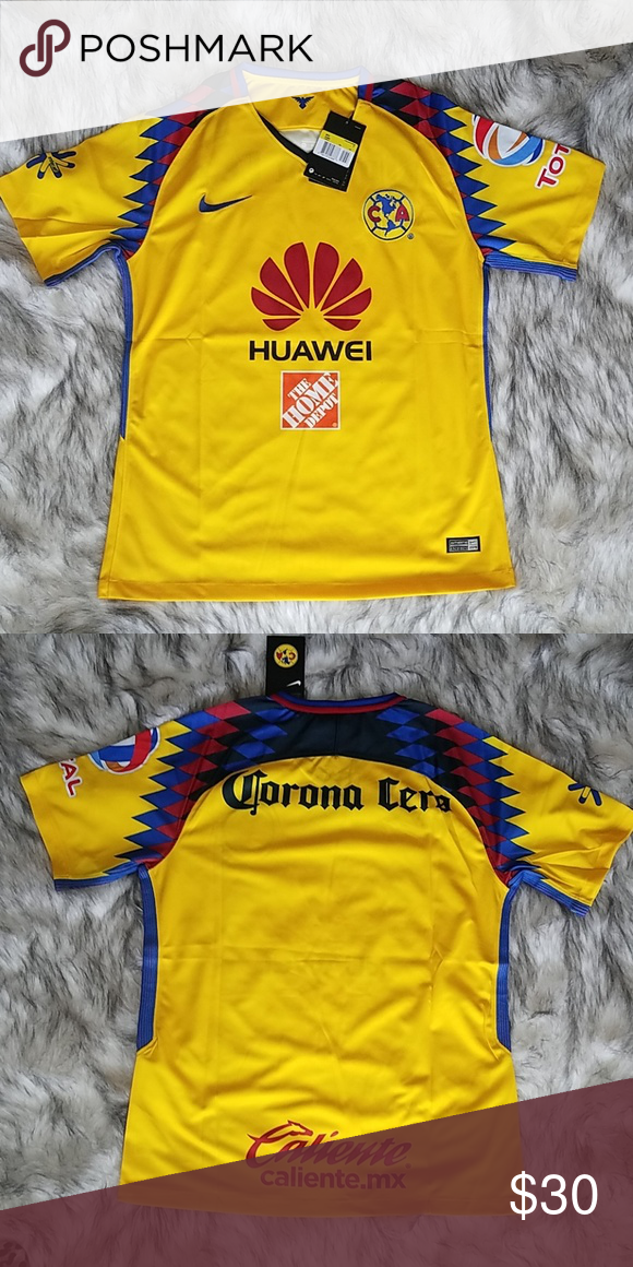 df41e181e83 💛Club America Jersey💛 NWT No trades, offers welcome ❤ Nike Shirts Tees -