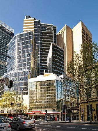 Meriton Serviced Apartments Campbell Street in Sydney, New ...
