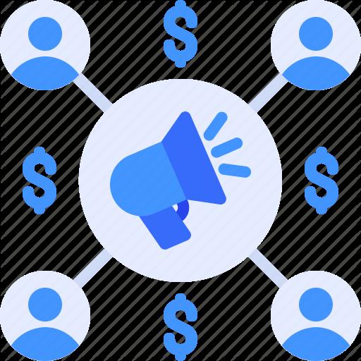 Advertising Affiliate Digital Internet Marketing Icon Download On Iconfinder Marketing Icon Icon Digital Marketing