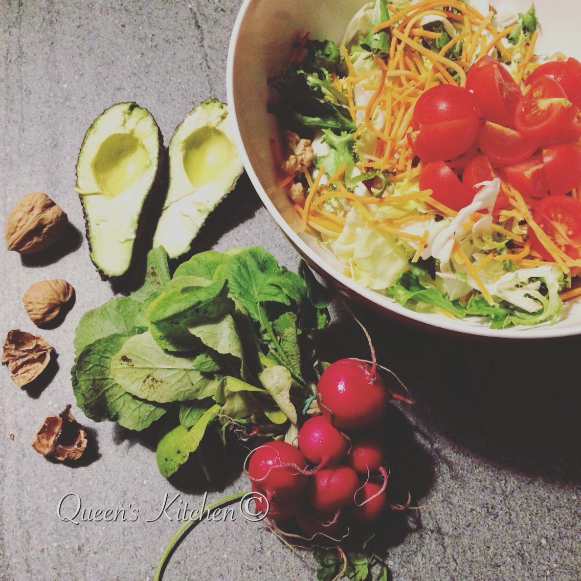 Prepariamo una bella insalata! {www.queenskitchen.it} #queenskitchen #cuciniamoacasa
