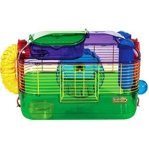 Walmart Super Pet Crittertrail One Level Habitat Hamster Care