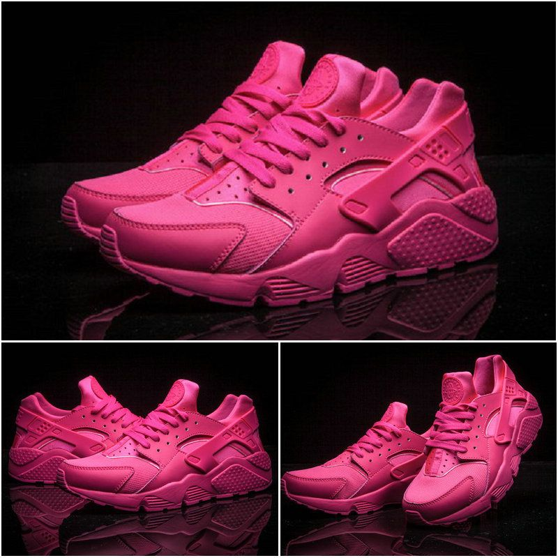 all pink huaraches