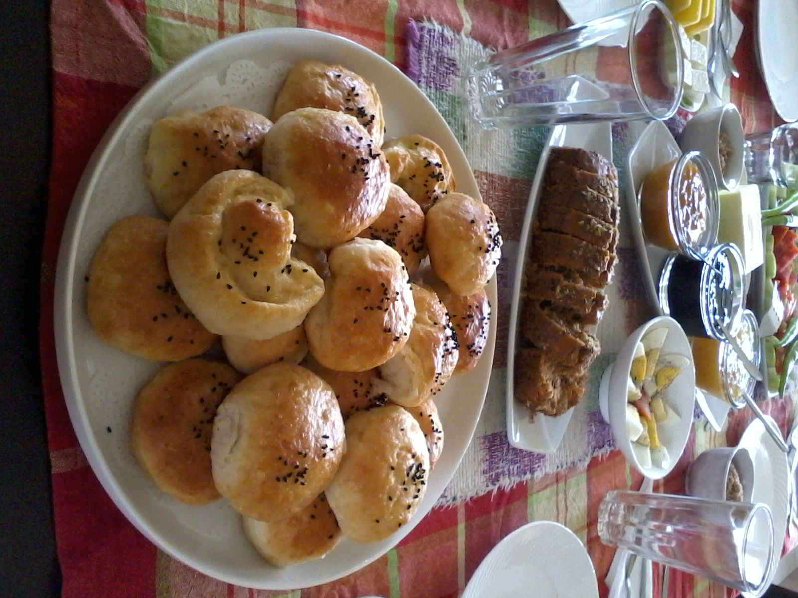 Skydelights' Breakfast Buns provide that needed energy rush what with potatoes mashed with the dough.