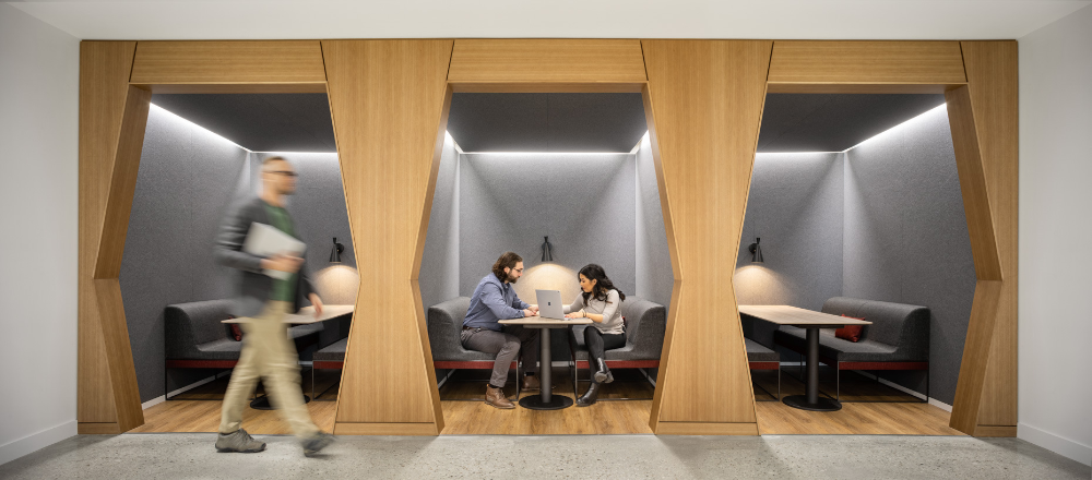 Booz Allen Hamilton NexGen Innovation Center Offices
