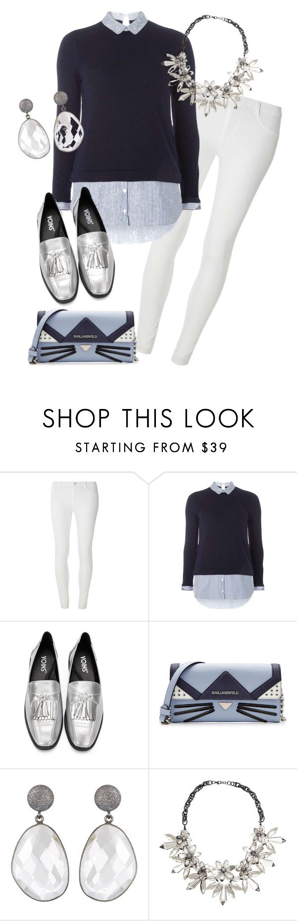 """Untitled #54"" by hillhop ❤ liked on Polyvore featuring Dorothy Perkins, Karl Lagerfeld and John Lewis"