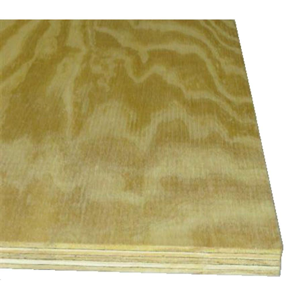 Sanded Plywood Common 1 4 In X 2 Ft X 4 Ft Actual 0 224 In X 23 75 In X 47 75 In 1502100 The Home Depot Project Panels Plywood Projects Pine Plywood