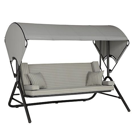 Buy John Lewis Henley by KETTLER Swing Seat, Grey Online at ...