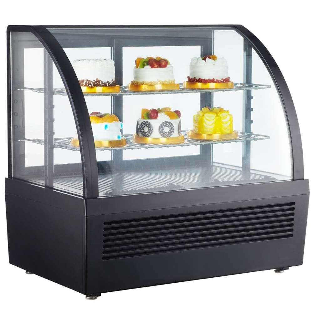 Marchia Mdc101 28 Refrigerated Countertop Bakery Display Case With Led Countertop Display Countertop Display Case Display Cabinet