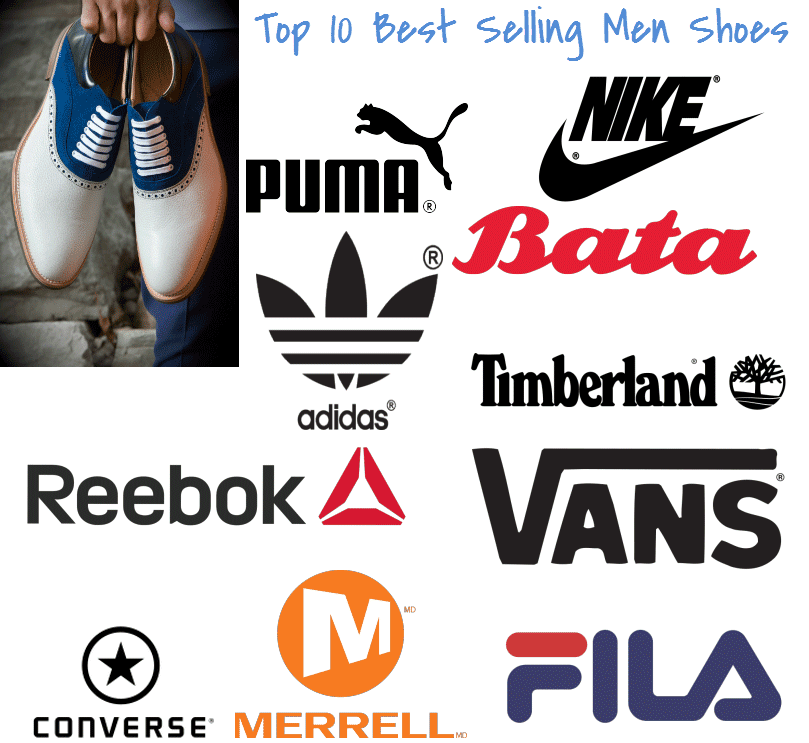 top 10 best selling shoes for men | Brand | Pinterest | Tops and ...