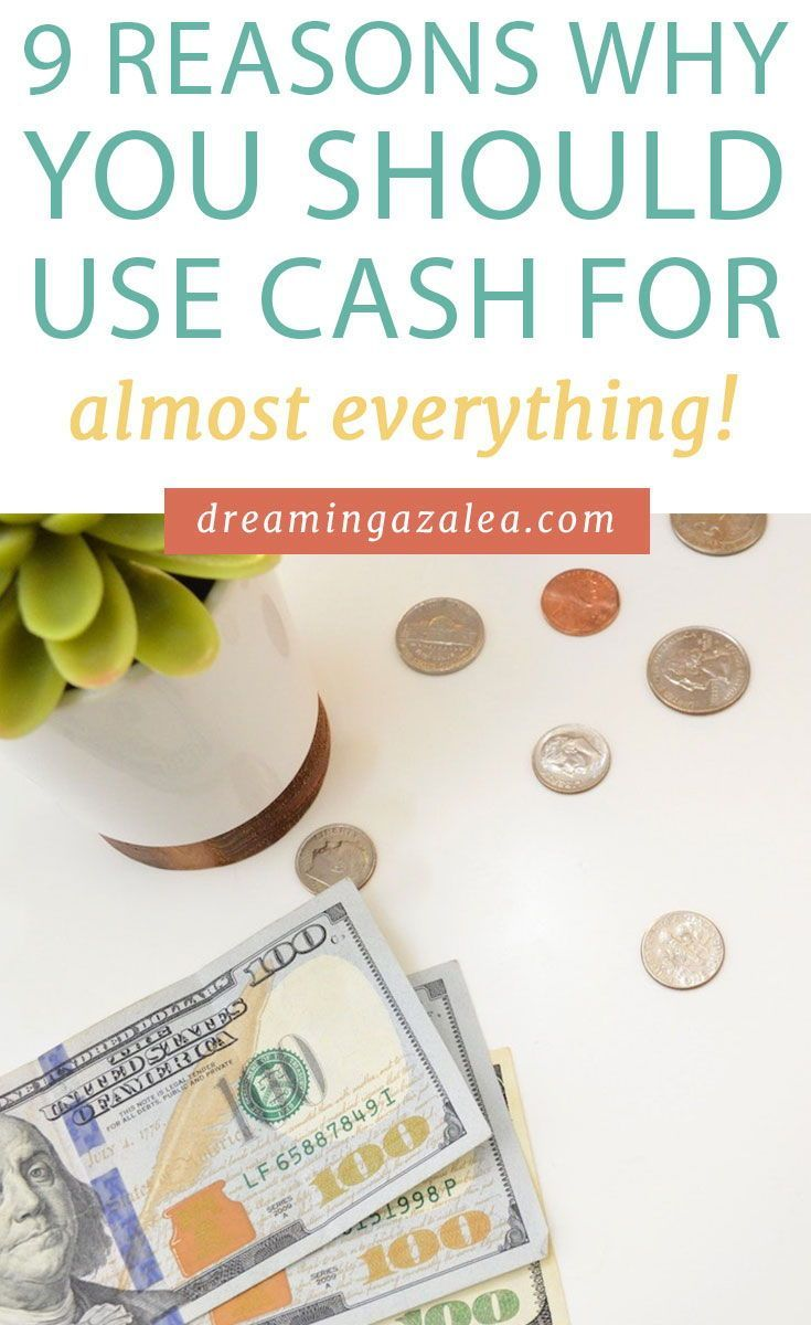One of my top finance tips use cash for everything not