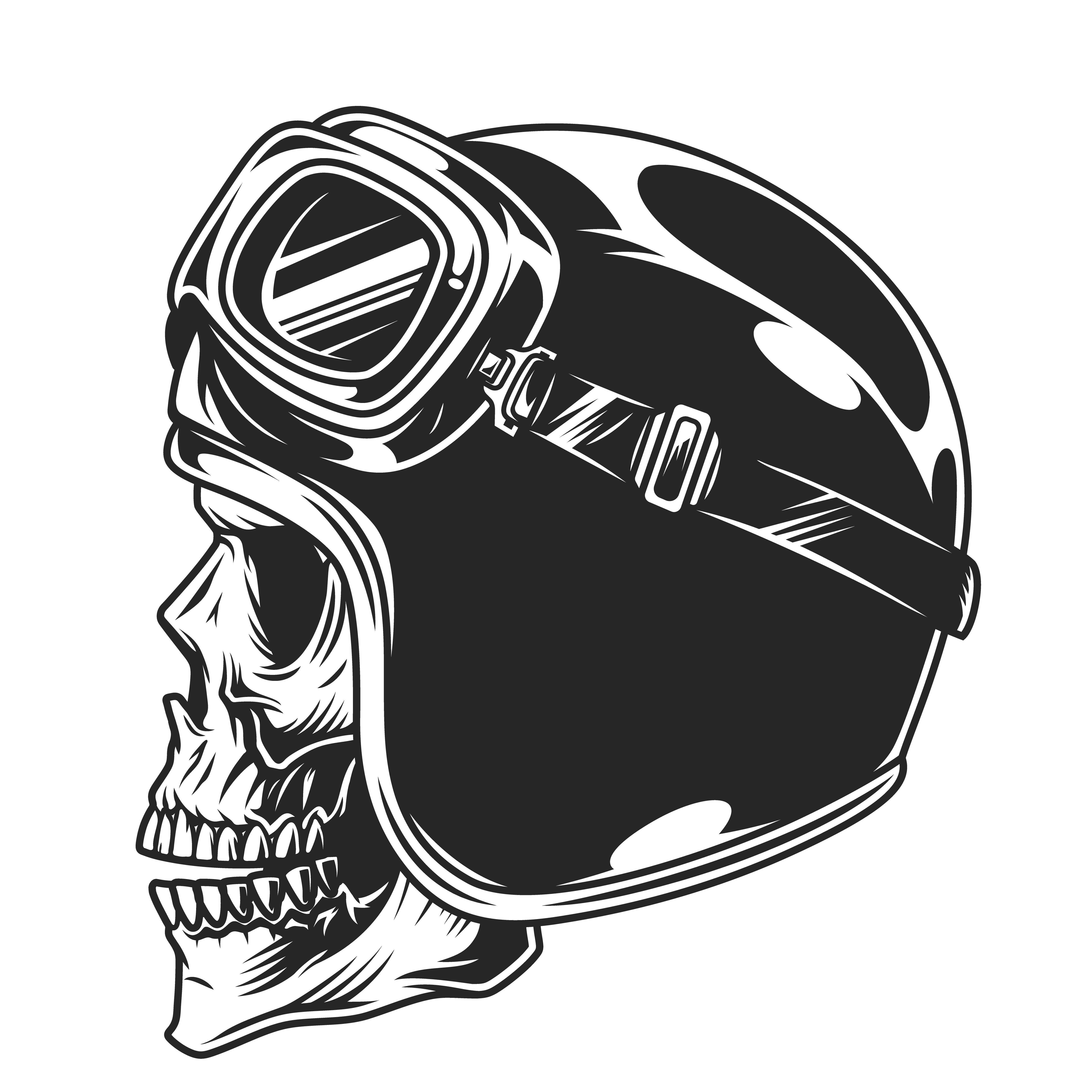 Motorcycle Bundle In 2020 Helmet Drawing Adobe Illustrator Graphic Design Skull Logo