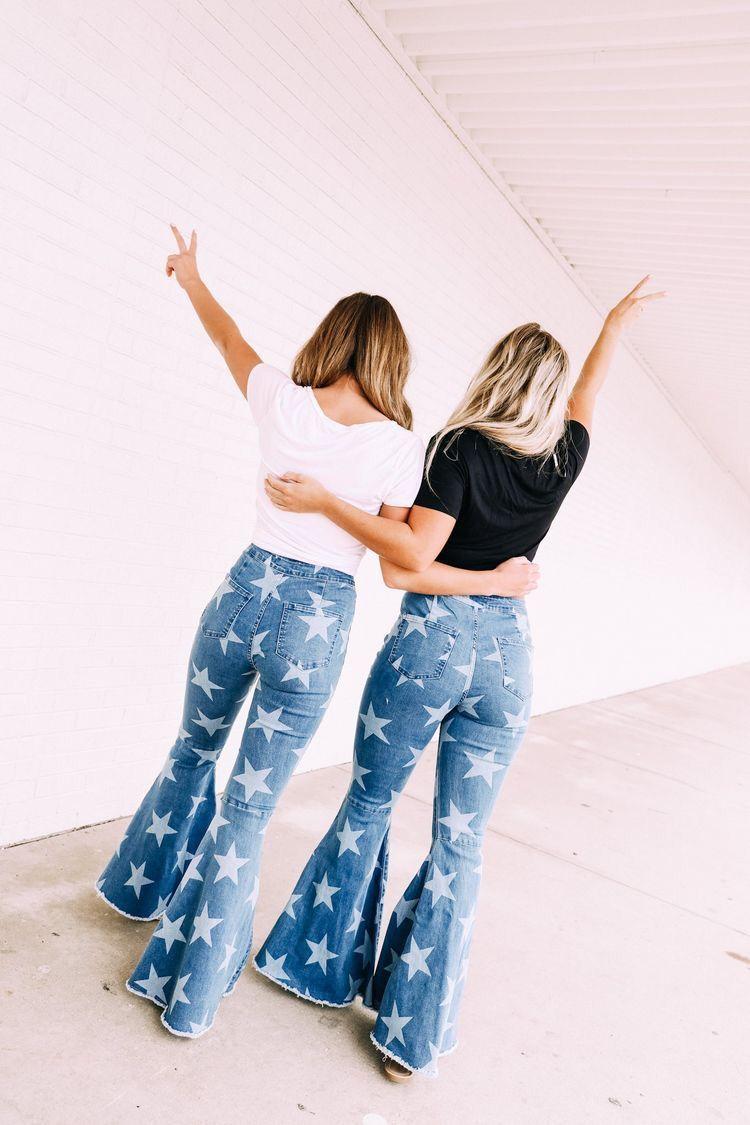 #Jeans #bottominspo #color #pants #follow4follow #board #teenager #bells