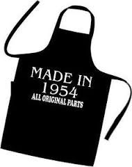 60th Birthday Apron This Would Be Great On A Tshirt For