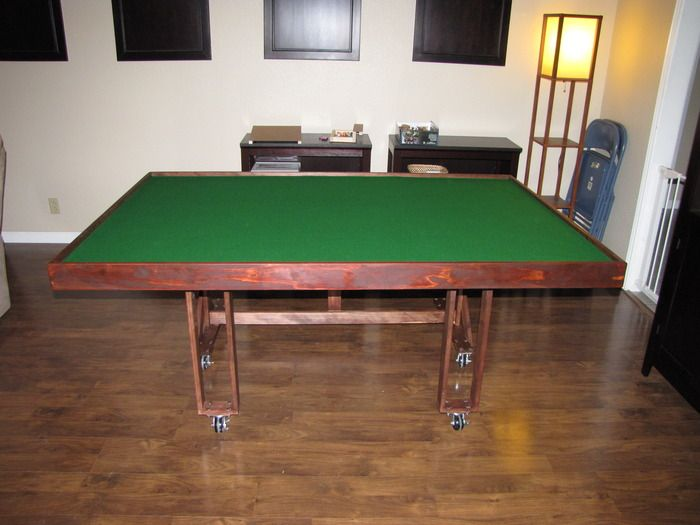 Folding Rolling Tabletop Table Room