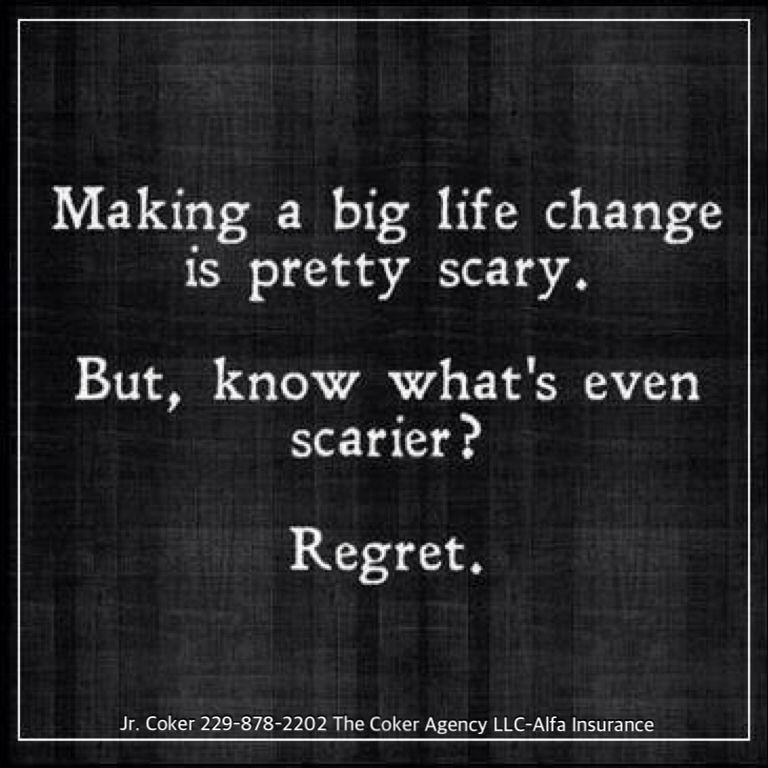 Life Insurance = No Regrets Life Insurance Life Quotes Quotes Cool Quotes About Life Insurance