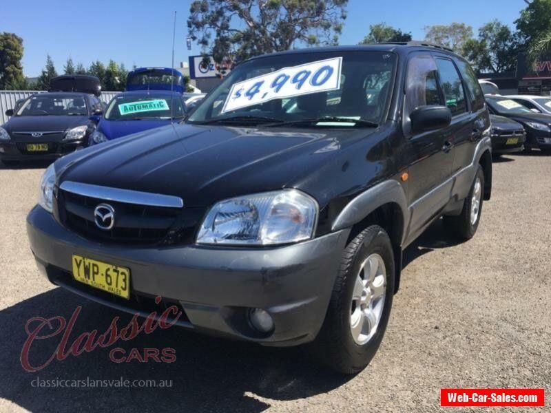 2003 Mazda Tribute Classic Black Automatic 4sp A Wagon #mazda #tribute #forsale #australia