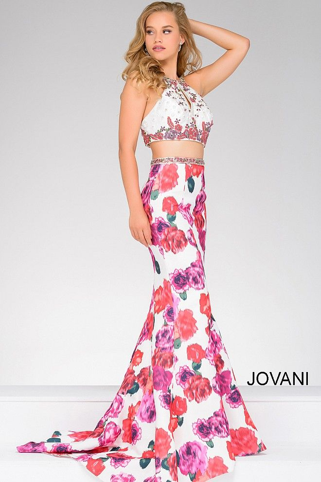 We\'re dreaming in floral #JOVANI #45570 | Prom 2017 | Pinterest