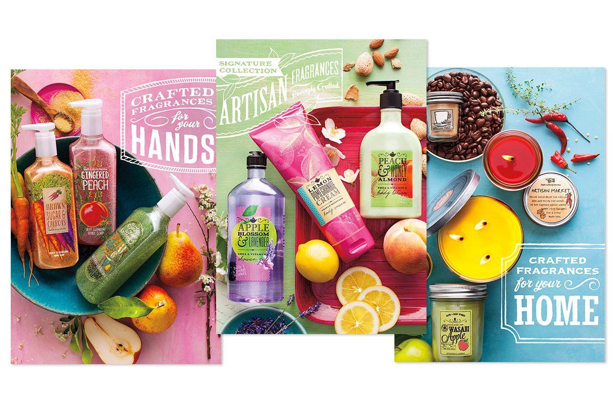 Bath body works market cards by slagle design
