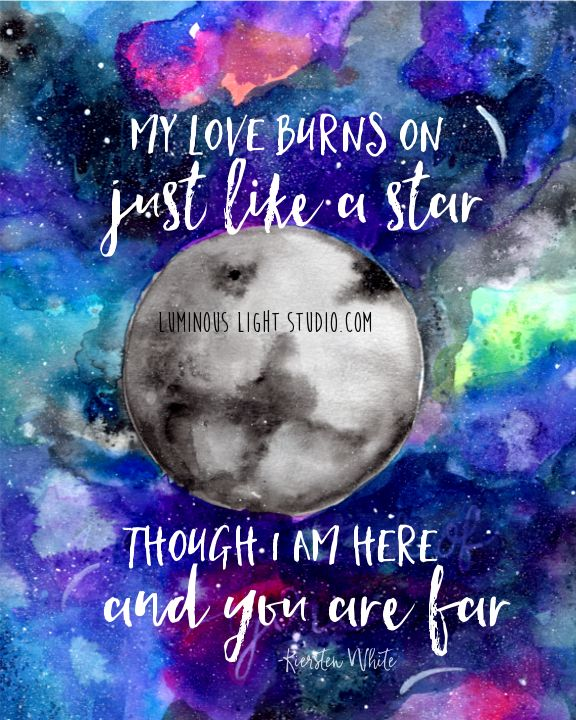 Quote By Kiersten White Quot My Love Burns On Just Like A