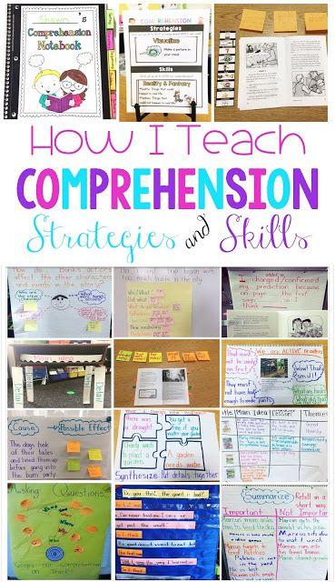 Teaching Comprehension Strategies And Skills Sarahs First Grade
