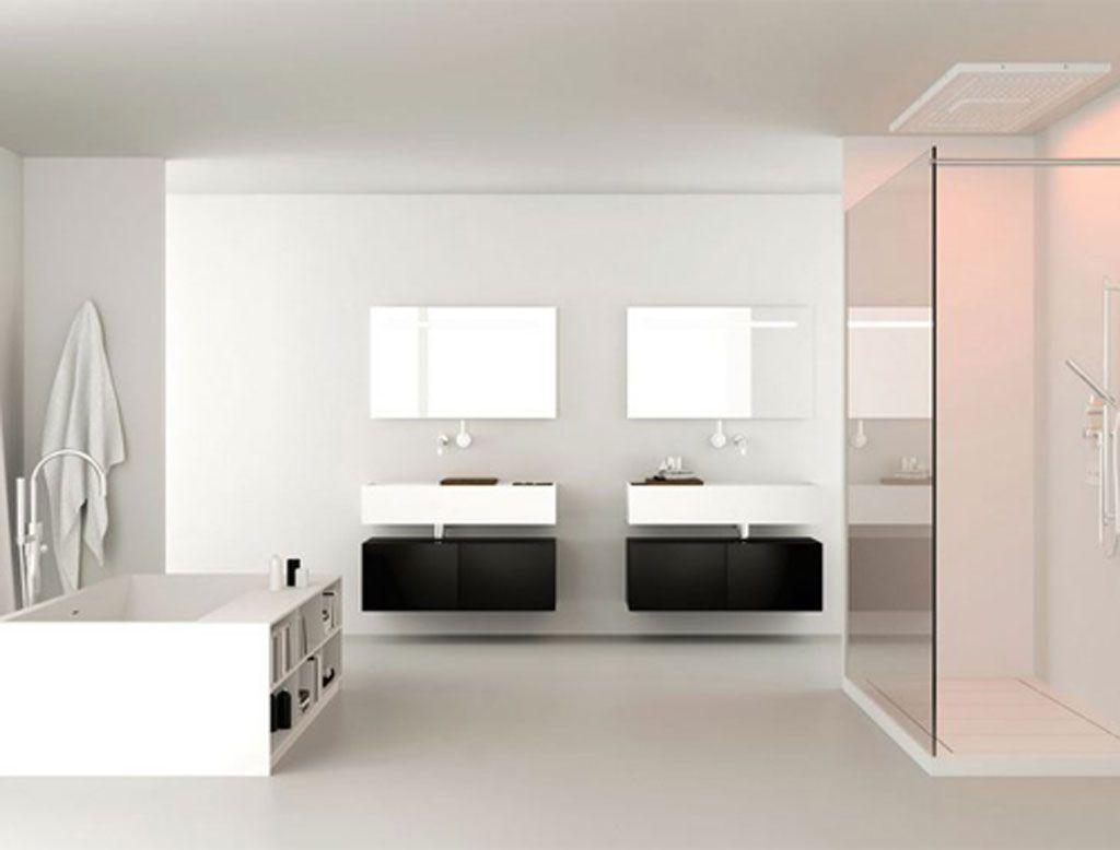 Canasta System e #Wood system - #mobile #bagno con #lavabo in ...