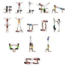 image result for yoga challenge trio  yoga  pinterest