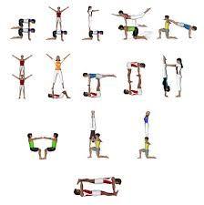 image result for yoga challenge trio  acro yoga basic