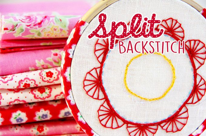 Split Backstitch for Outstanding Embroidery.