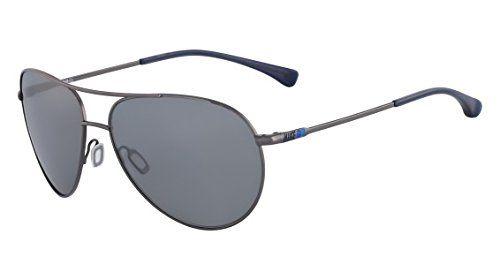 45c656f5f63d92 Womens Sunglasses   Nike EV0634904 Vintage MDL 82 Sunglasses One Size  GunmetalNavy Grey with Silver Flash