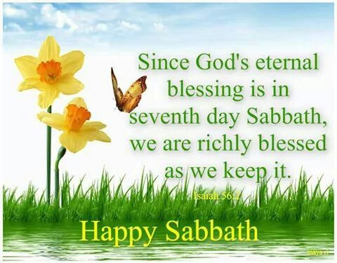 Happy Sabbath! | Sabbath | Sabbath quotes, Happy sabbath ...
