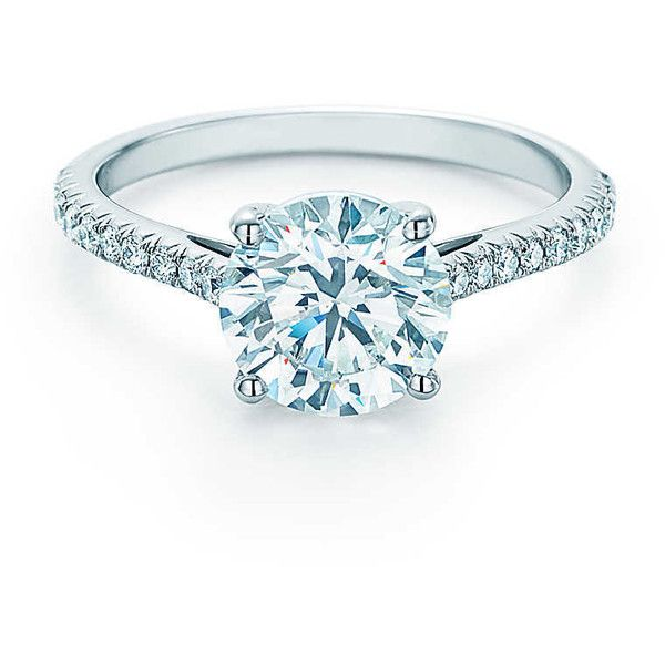 6a322395c Schlumberger Engagement Ring Engagement ❤ liked on Polyvore featuring  jewelry, rings, tiffany co jewelry, tiffany co jewellery, round ring, ...