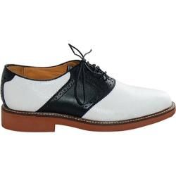1950s Mens Black and White Saddle Shoes  http://www.vintagedancer.com/1950s/1950s-mens-clothing/