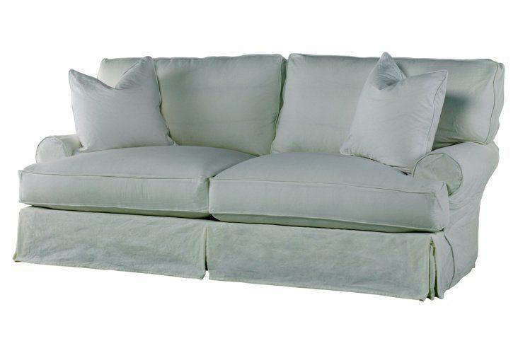 Soft and elegant The perfect shabby chic sleeper sofa INSPIRE