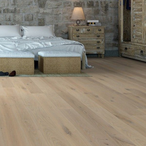 Scandic White Oak Brushed And Uv Oiled Engineered Flooring 190mm X 14mm