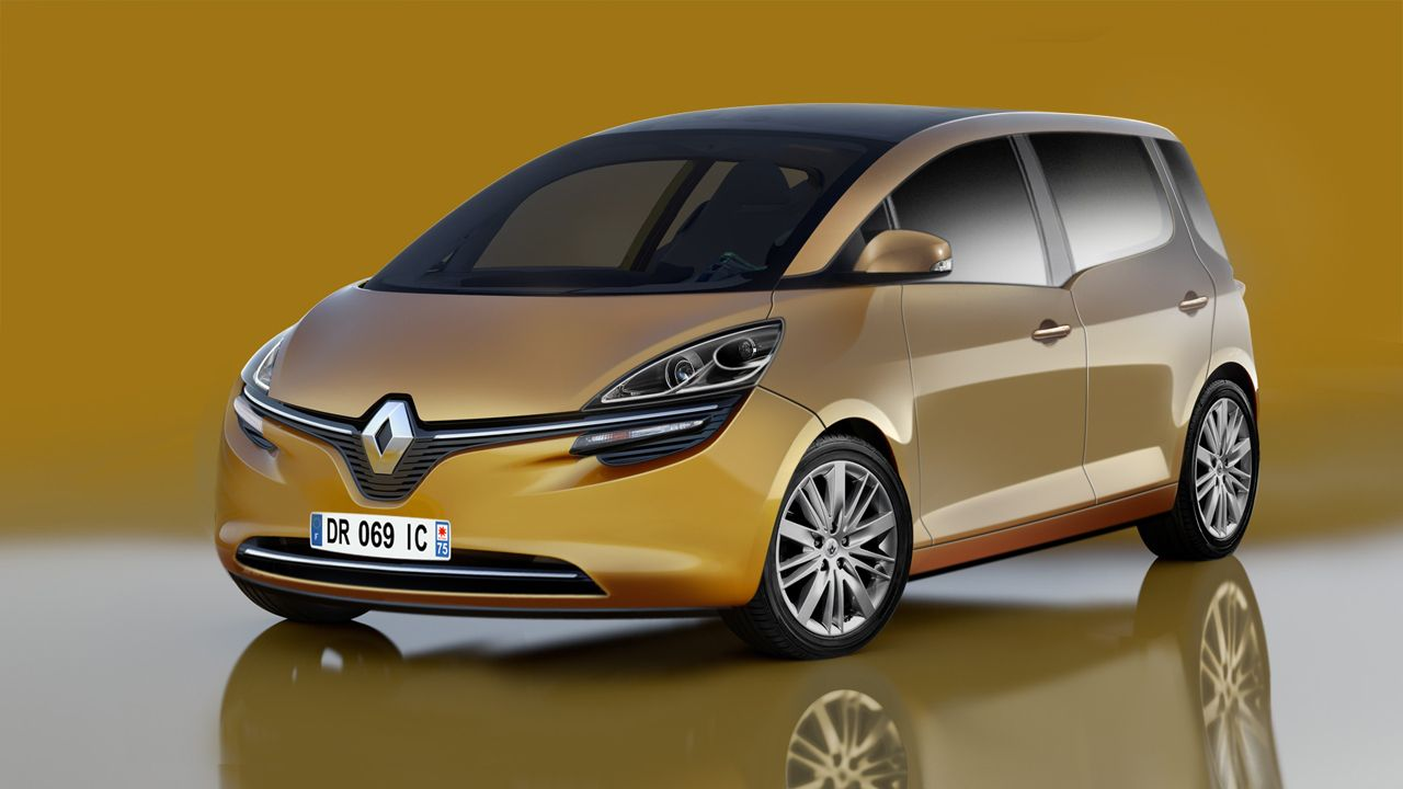 Renault Scenic To Make Its Way To The Geneva Motor Show Renault