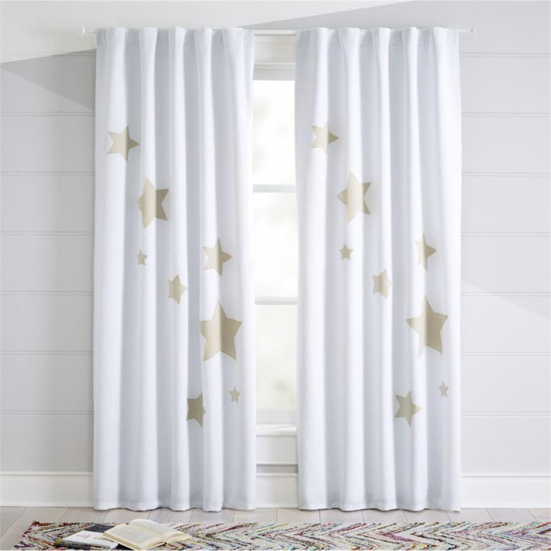 Shop Star Blackout Curtains Give Your Windows A Touch Of Star Studded Style With Our Blackout Star Curtains Wit Kids Curtains Cool Curtains Blackout Curtains