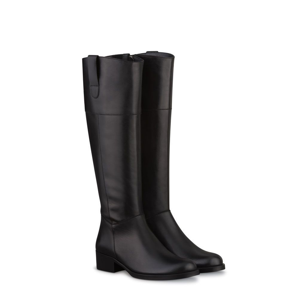 Beaumont Black Fitted Womens Boots | DUO US | Womens boots