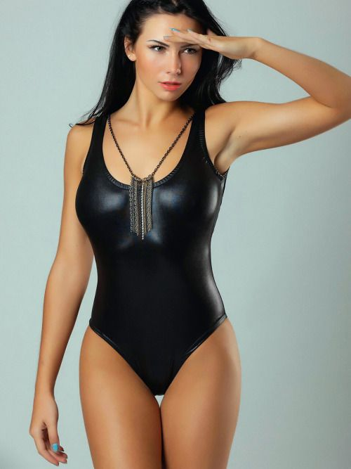 ecb1e15b0f Girls in One Piece Swimsuit. Love My Swimsuit. swimsuit shiny