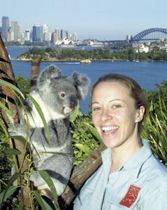 Taronga Zoo overlooks Sydney Harbour -a great spot for a zoo! #Australia