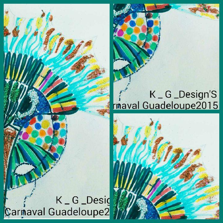"""Costume école Joseph Ignace Guadeloupe 2015 by K _ G _ Design'S C.L.I.S Croquis """" nou sé """""""