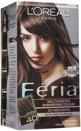L Oreal Paris Feria Multi Faceted Shimmering Colour Espresso