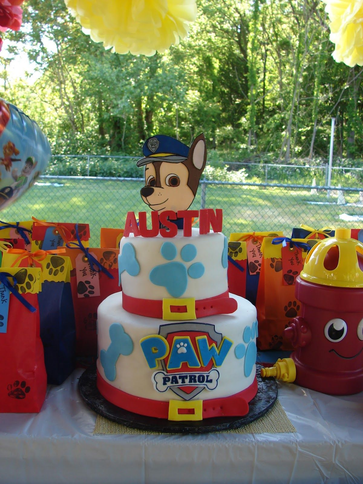 Chase 2nd Birthday Party Paw Patrol