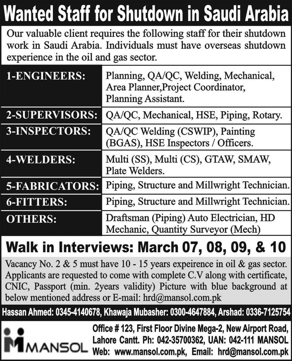 Looking For Jobs In Ksa Has Been Made Easy With Our Advanced Career Matching Utilities Job Posts From All Major Companies In Saudi Job Posting Engineering Job
