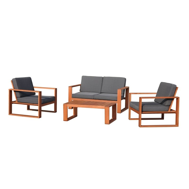 Mimosa 4 Piece Deva Deep Seat Sofa Setting Living Productsmimosasoutdoor Furniture3